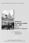 Quatre Ans De Recherche Urbaine 2001-2004 Volume2