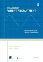 Reinventing Patient Recruitment