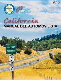 MANUAL DEL AUTOMOVILISTA DE CALIFORNIA 2016