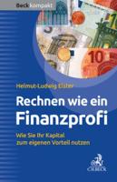 Helmut-Ludwig Elster - Rechnen wie ein Finanzprofi artwork