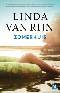 Zomerhuis Door Linda van Rijn Boekomslag