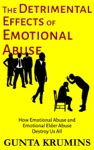 The Detrimental Effects Of Emotional Abuse