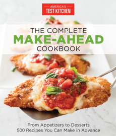 The Complete Make-Ahead Cookbook book