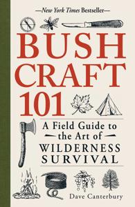 Bushcraft 101 La couverture du livre martien