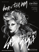 Born This Way Sheet Music Book Cover