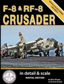 F-8 & RF-8 Crusader in Detail & Scale