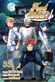 Food Wars!: Shokugeki no Soma, Vol. 33