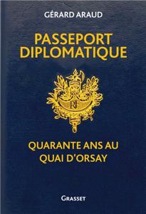 Passeport diplomatique La couverture du livre martien