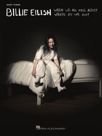 Billie Eilish - When We All Fall Asleep, Where Do We Go? Easy Piano Songbook PDF Download