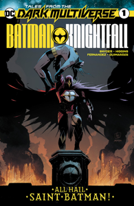 Tales from the Dark Multiverse: Batman Knightfall (2019-) #1 La couverture du livre martien