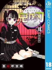 鬼滅の刃 18 Book Cover