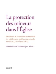 La protection des mineurs dans l'Eglise La couverture du livre martien