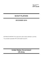 Army Techniques Publication ATP 3-20.98 Scout Platoon December 2019