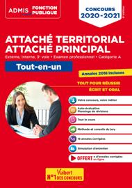 Concours Attaché territorial - Catégorie A - Tout-en-un