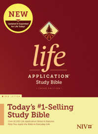 NIV Life Application Study Bible, Third Edition