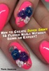 How To Create Super Shiny 3D Flower Nails Without Being An Expert?