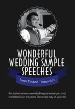 Wonderful Wedding Sample Speeches IBooks