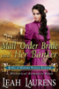 Leah Laurens - Mail Order Bride and Her Banker (#1, Brides of Montana Western Romance) (A Historical Romance Book)  artwork