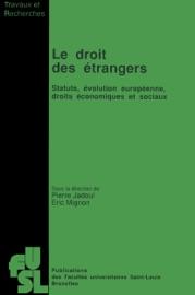 Le Droit Des Trangers