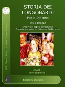Storia dei Longobardi Copertina del libro