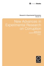 New Advances In Experimental Research On Corruption