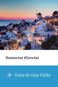 Santorini (Grecia) - Guías de viaje Guiño Book Cover