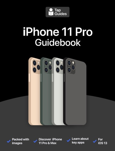 iPhone 11 Pro Guidebook Book