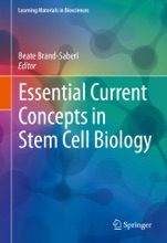 Essential Current Concepts in Stem Cell Biology