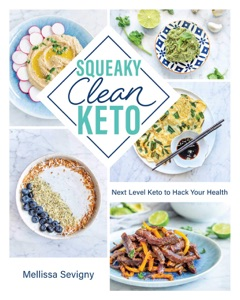 Squeaky Clean Keto by Mellissa Sevigny Book Cover