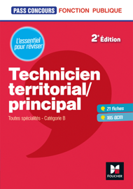 Pass'Concours - Technicien territorial / principal - 2e édition - Révision et entrainenement