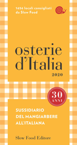 Osterie d'Italia 2020 Copertina del libro