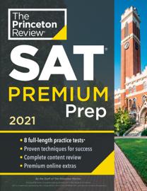 Princeton Review SAT Premium Prep, 2021