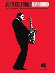 John Coltrane - Omnibook for C Instruments