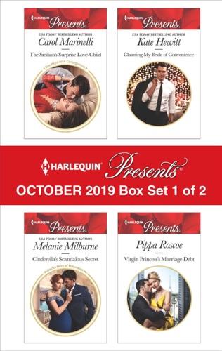 Carol Marinelli, Melanie Milburne, Kate Hewitt & Pippa Roscoe - Harlequin Presents - October 2019 - Box Set 1 of 2