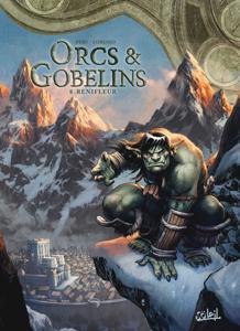 Orcs & Gobelins T08 La couverture du livre martien