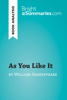 Bright Summaries - As You Like It by William Shakespeare (Book Analysis) artwork
