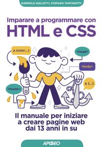 Imparare a programmare con HTML e CSS Copertina del libro