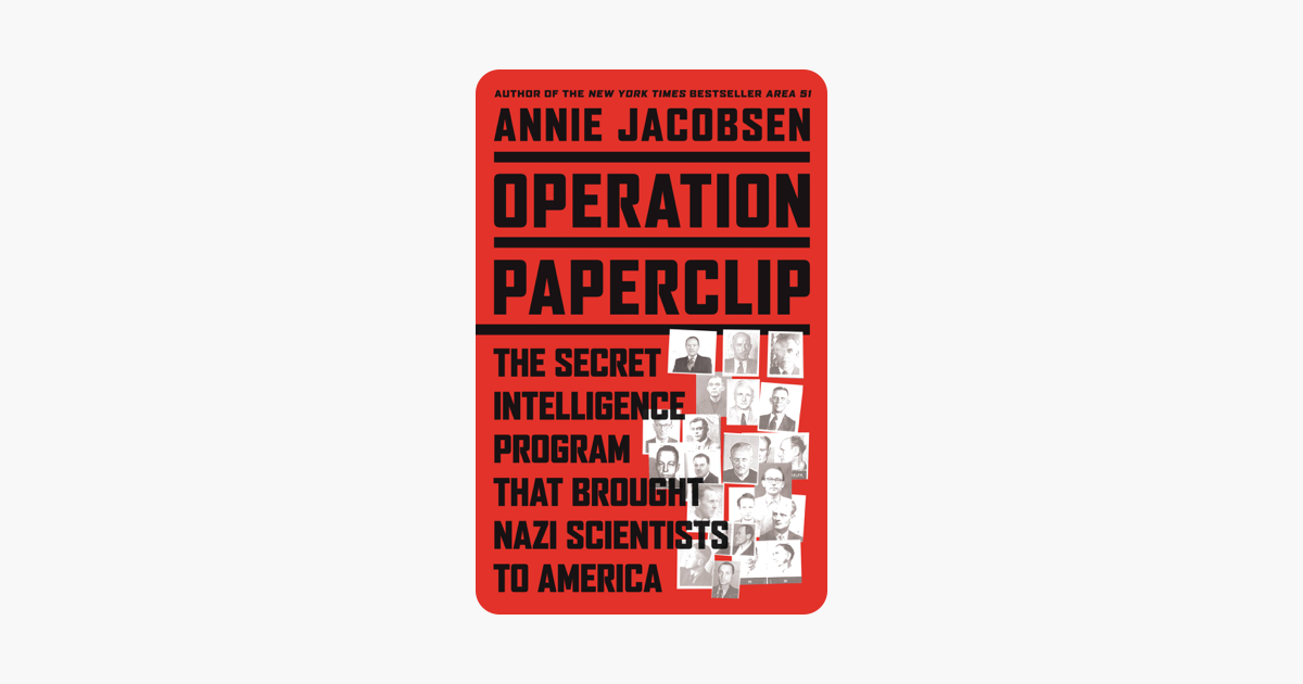 Operation Paperclip - Annie Jacobsen