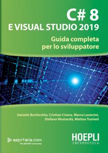 C# 8 e Visual Studio 2019 Copertina del libro