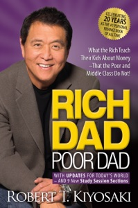 Rich Dad Poor Dad by Robert T. Kiyosaki Book Cover