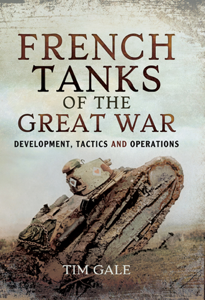 French Tanks of the Great War Buch-Cover