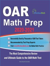 OAR Math Prep 2020-2021: The Most Comprehensive Review And Ultimate Guide To The OAR Math Test