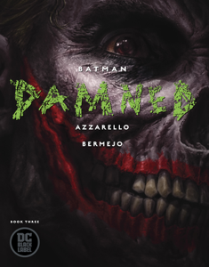 Batman: Damned (2018-) #3 Libro Cover