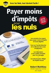 Payer moins d'impôts 2019-2020 pour les Nuls poche La couverture du livre martien