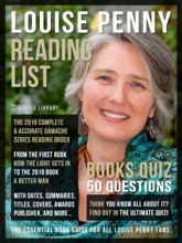 Louise Penny Reading List and Books Quiz