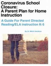 Coronavirus School Closure:  A Parent Plan For Home Instruction