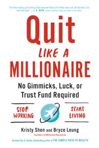 Quit Like a Millionaire La couverture du livre martien