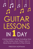 Preston Hoffman - Guitar Lessons: In 1 Day - Bundle - The Only 4 Books You Need to Learn Acoustic Guitar Music Theory and Guitar Instructions for Beginners Today  artwork