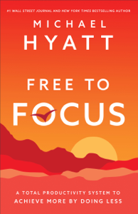 Free to Focus Cover Book