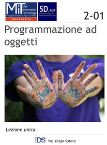 Programmazione ad oggetti Copertina del libro